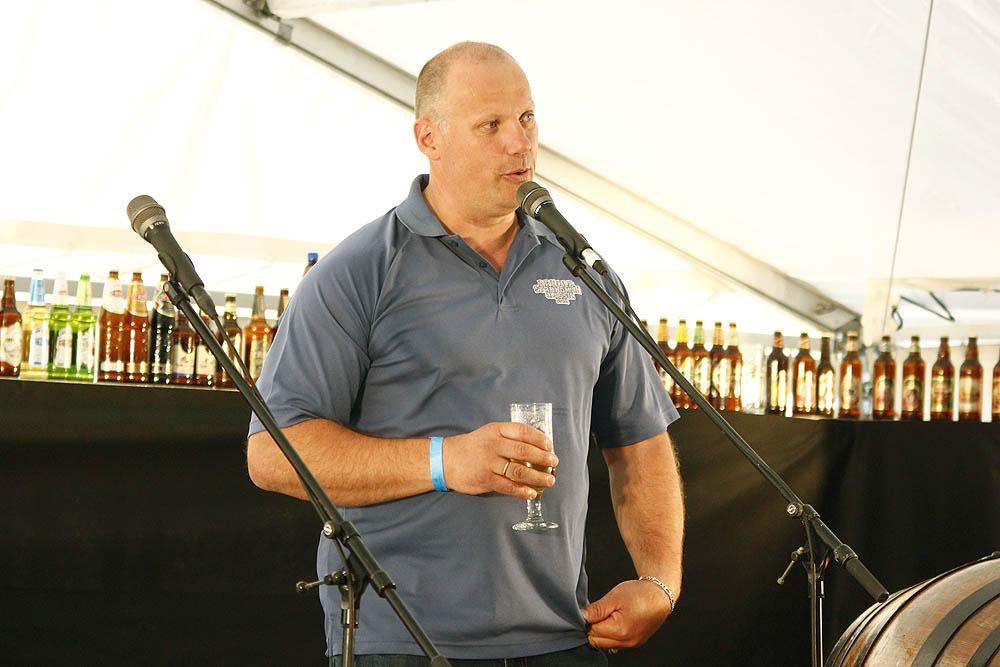 Līdzšinējais latvia Beer Fest vadītājs, Raimonds Bergmanis